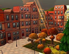 Cartoon City Mega-Pack 3D asset