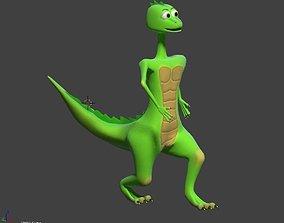 3D asset Lovely Dino