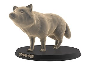 print Raccoon Dog 3D printable model