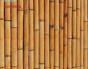 Ultra realistic Bamboo Fence 3D