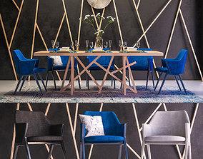 Roche bobois furniture set 3D