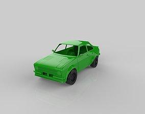 ford escort mk2 3D print model