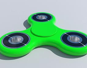 Fidget Finger Spinner 3D model