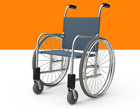 Wheelchair Rig 3D asset