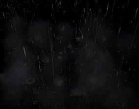 VFX Rain Particles 3D