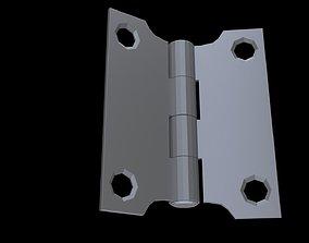 Low poly Hinge 5 3D asset