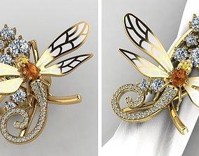 Ring DRAGONFLY 3D print model