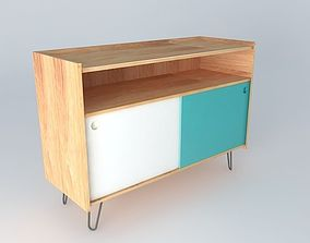 TV STAND UP TWIST houses the world 3D model