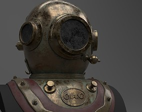 3D Skaphander - Diving helmet