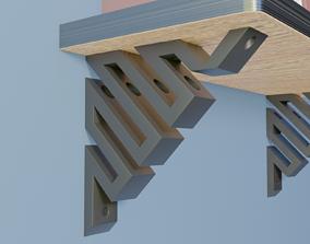 Shelf Bracket 1 3D printable model