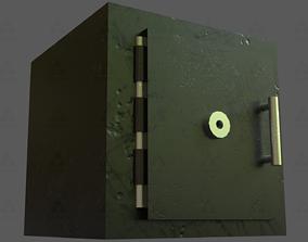 3D asset Security Safe Vault -