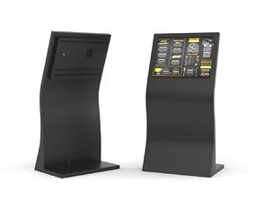 Information Kiosk led 3D model