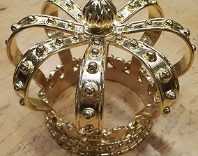 low-poly Crown 3D print model