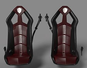 Lamborghini seats 3D model