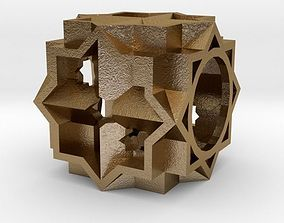 Dice 3D print model gift art