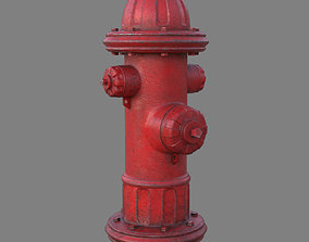 3D US Fire Hydrant