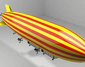 Zeppelin - Commercial 3D model