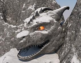 3D model Mountain - Dragon Head