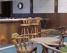3D model Pub scene