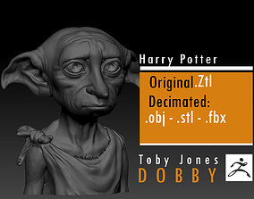 3D printable model Dobby - Toby Jones - Harry Potter