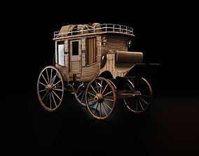 Bloodborne Style Stagecoach 3D model