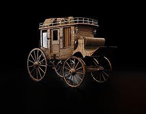 Bloodborne Style Stagecoach 3D model