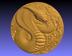 3D printable model Snake coin