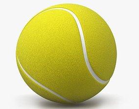 Tennis Ball 3D model poly