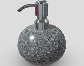 Soap Dispenser 6 3D asset