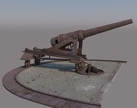 Old Cannon 3D