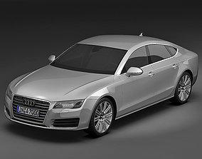 2011 Audi A7 Sportback 3D