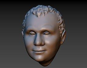 3D print model Random Man Head