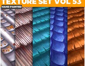Roof Vol 53 - Game PBR Textures 3D asset