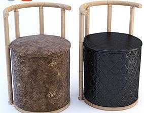 3D model Rhombus Puff Chair
