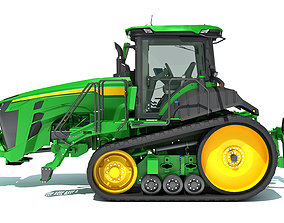 3D Two Track Tractor