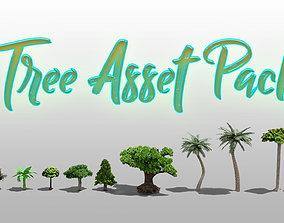 Tree Asset Pack Blender3D