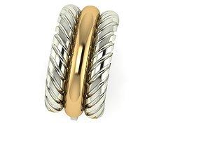 3D printable model Pigtail Earrings