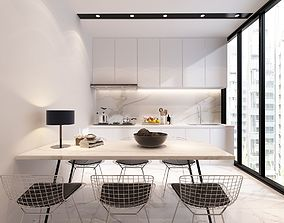 3D model Kitchen sink ceiling