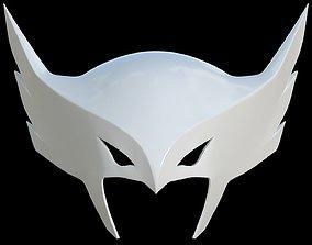 Justice League Hawkgirl helmet for 3D Print