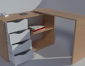 3D Ofice birou table