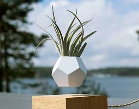 Magnetic Levitation Flower Pot 3D printable model