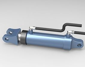 3D model hydraulic-cylinder Hydraulic Cylinder