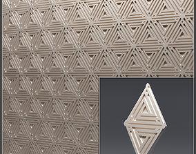 Gypsum 3D panel 12