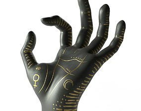 objects Palm Reading and Jewelry Holder 3D model