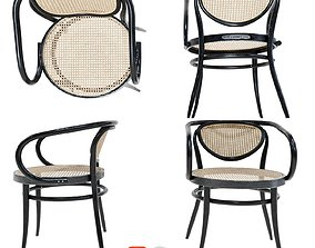 Thonet Chair 3D black