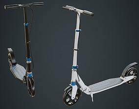 3D asset Kick Scooter 1A