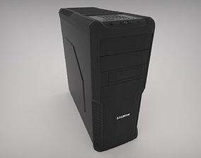 3D model case Zalman Z3 Computer Case