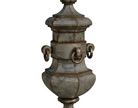 iron Architectural Metal Finial 263 3D