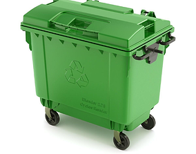 Trash Container 3D