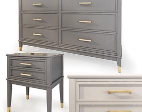 3D Dresser nightstand Westerleigh